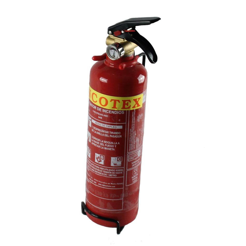 Extintor polvo 1kg